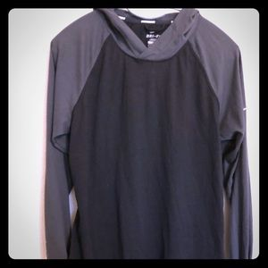 Nike black and grey long sleeve shirt light weight
